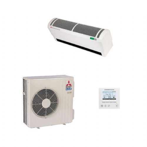 Mitsubishi Electric Air Conditioning HP Heat Pump Air Curtain System
